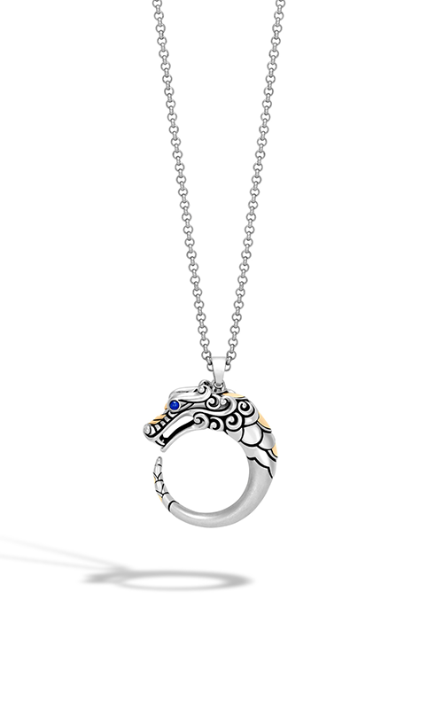 John Hardy Legends Naga Necklace NZS650125BHBSPX16-18 product image