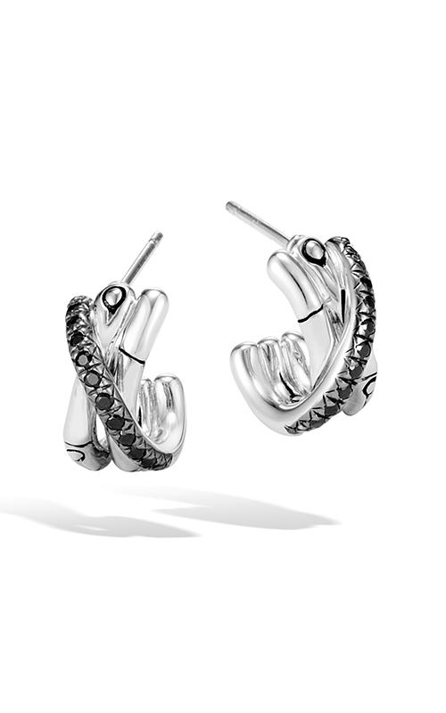 John Hardy Bamboo Earring EBS59374BLSBN product image