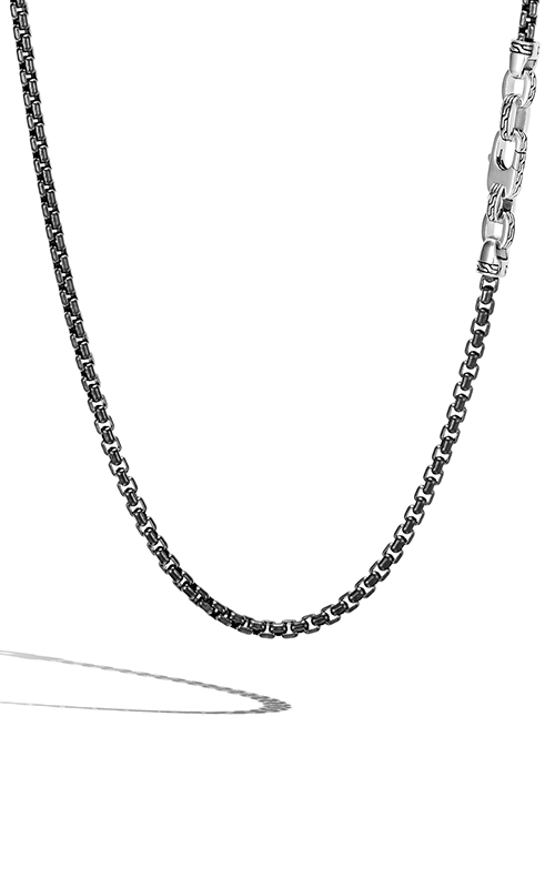 John Hardy Classic Chain Men's Necklace NM90265BLPVDX22 product image