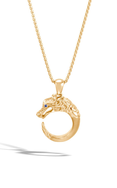 John Hardy Legends Naga Pendant NGS6501255BHBSPX16-18 product image