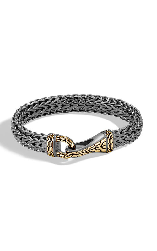John Hardy Classic Chain Men's Bracelet BMZ999657MBRDXS product image