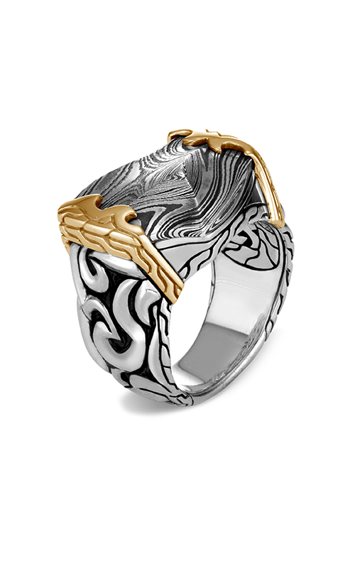 John Hardy Classic Chain Men's Ring RMZ90463STLX10 product image