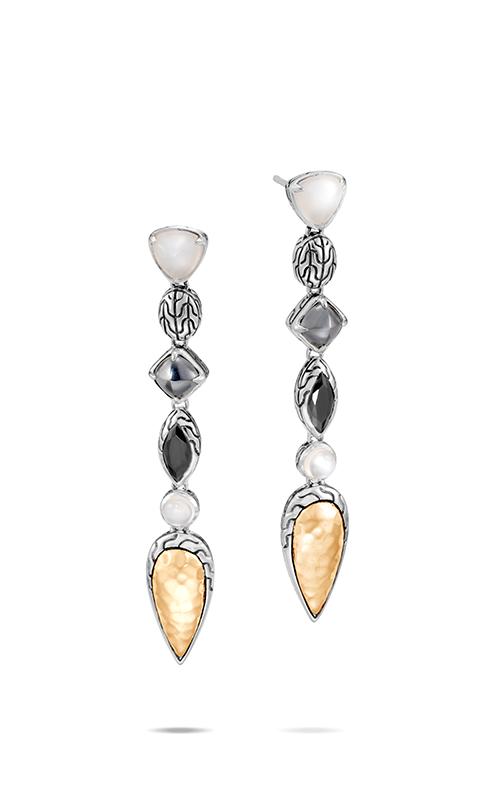 John Hardy Classic Chain Earrings EZS90518WMOHEBN product image