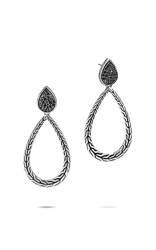 John Hardy Classic Chain Earrings EBS906074BLSBN product image