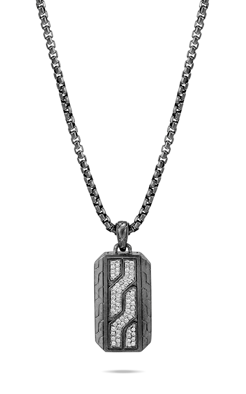 John Hardy Classic Chain Necklace NMP906142BHMBRDDIX22 product image