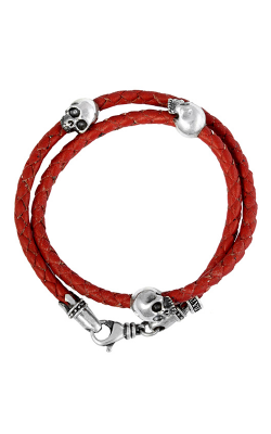 King Baby Studio Men's Bracelets Bracelet K42-5543-RED product image