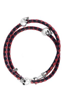 King Baby Studio Men's Bracelets Bracelet K42-5543-RBK product image