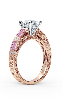 Kirk Kara Charlotte Engagement ring SS6685P-RR product image
