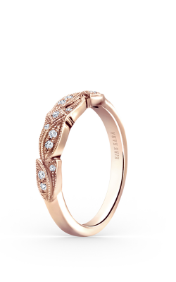 Kirk Kara Dahlia Wedding band K156R-B product image