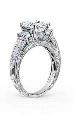 Kirk Kara Charlotte Engagement ring K1384DE-R product image