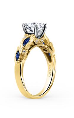 Kirk Kara Dahlia Engagement ring K155BDRY product image