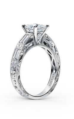 Kirk Kara Charlotte Engagement ring SS6685D-R product image
