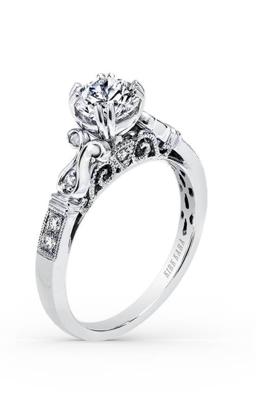 Kirk Kara Pirouetta Engagement ring K163R product image