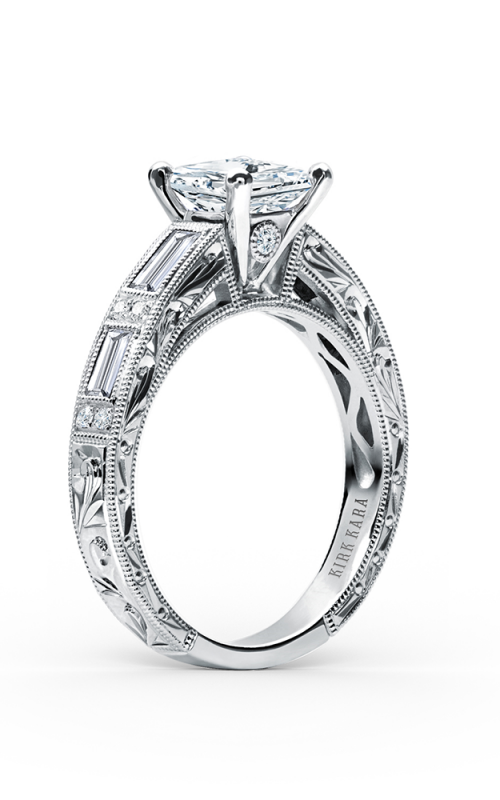 Kirk Kara Charlotte Engagement ring SS6685D-R product image