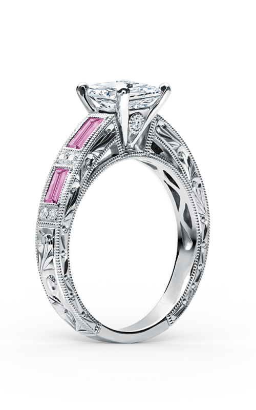 Kirk Kara Charlotte Engagement ring SS6685P-R product image