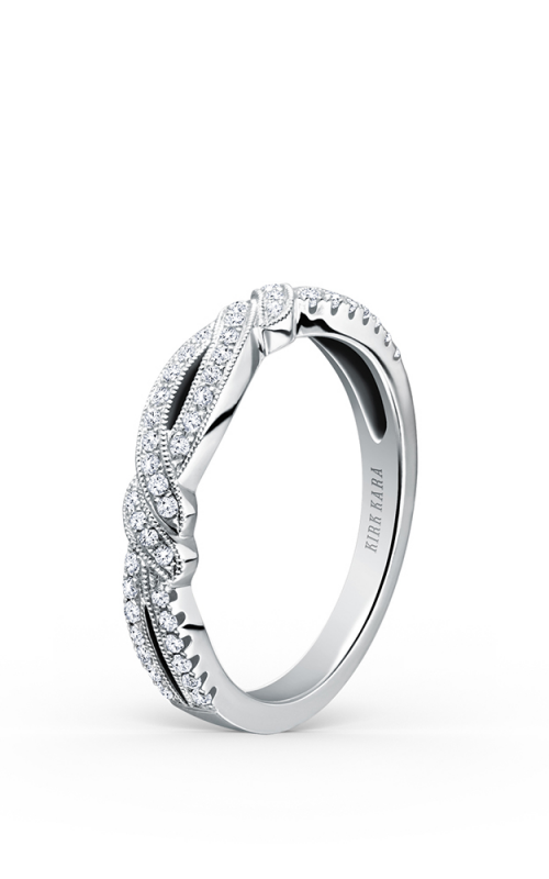 Kirk Kara Pirouetta Wedding band K133-B product image