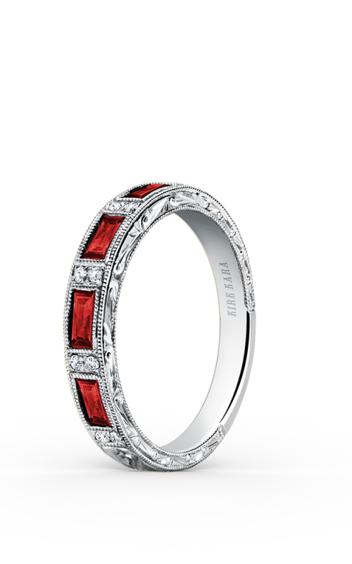 Kirk Kara Charlotte Wedding band SS6685R-B1 product image