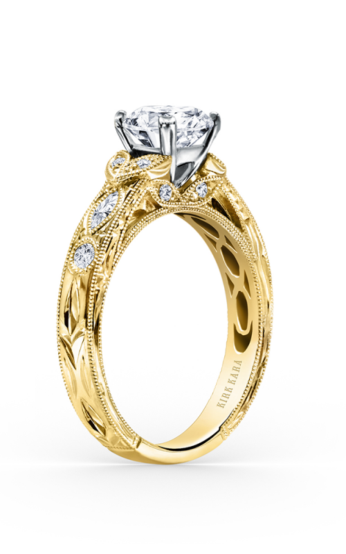 Kirk Kara Dahlia Engagement ring K1120DCY-R product image