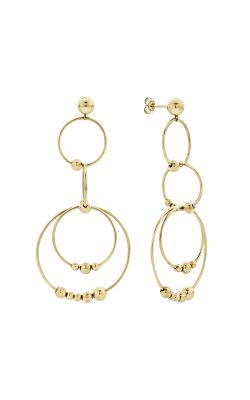 Lagos Caviar Gold Earrings 01-11044-00 product image
