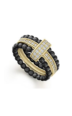 Lagos Caviar Gold Fashion ring 02-10276-CB7 product image