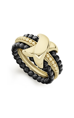 Lagos Caviar Gold Fashion ring 02-10300-CB7 product image