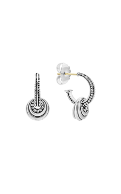 Lagos Signature Caviar  Earrings 01-81112-S product image