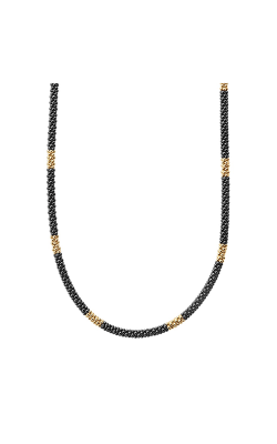 Lagos Gold & Black Caviar Necklace 04-10453-CB16 product image
