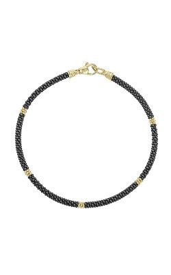 Lagos Gold & Black Caviar Bracelet 05-10290-CBM product image