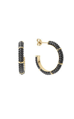 Lagos Gold & Black Caviar Earrings 01-11003-CB product image