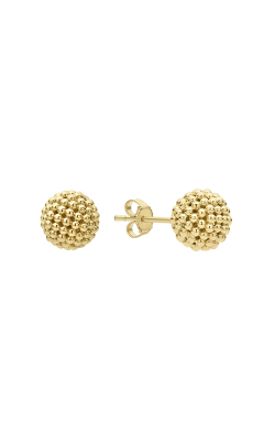 Lagos Caviar Gold Earrings 01-11008-00 product image