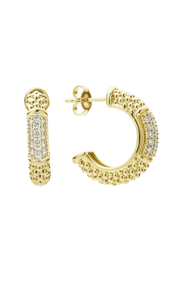Lagos Caviar Gold Earrings 01-11026-DD product image