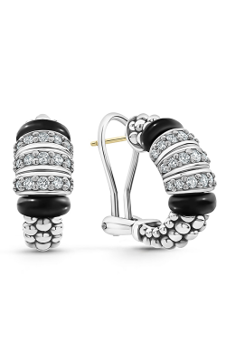 Lagos Black Caviar Earrings 01-81923-CB product image
