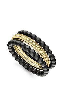 Lagos Gold & Black Caviar Fashion ring 02-10289-CB7 product image