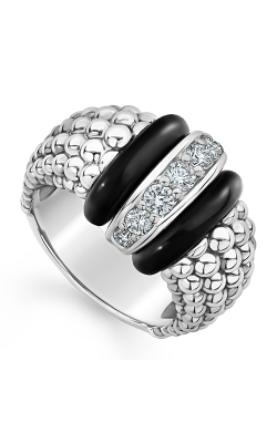 Lagos Black Caviar Fashion ring 02-80730-CB7 product image