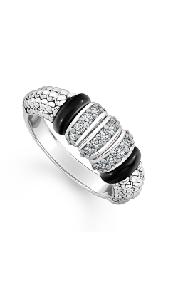 Lagos Black Caviar Fashion Ring 02-80733-CB6 product image