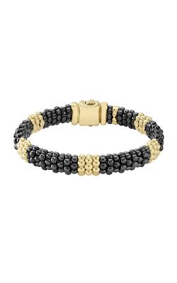 Lagos Gold & Black Caviar Bracelet 05-10277-CBM product image