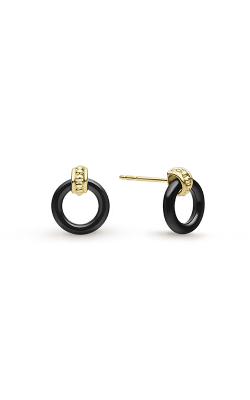 Lagos Caviar Gold Earring 01-11096-CB product image