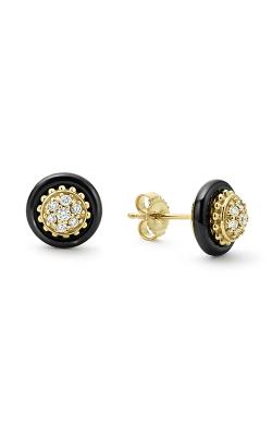 Lagos Gold & Black Caviar Earring 01-11093-DD product image
