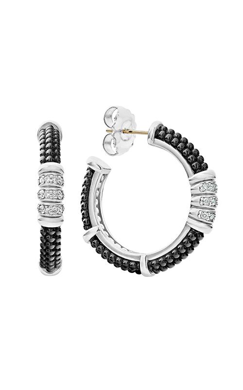 Lagos Black Caviar Earring 01-81744-CB product image