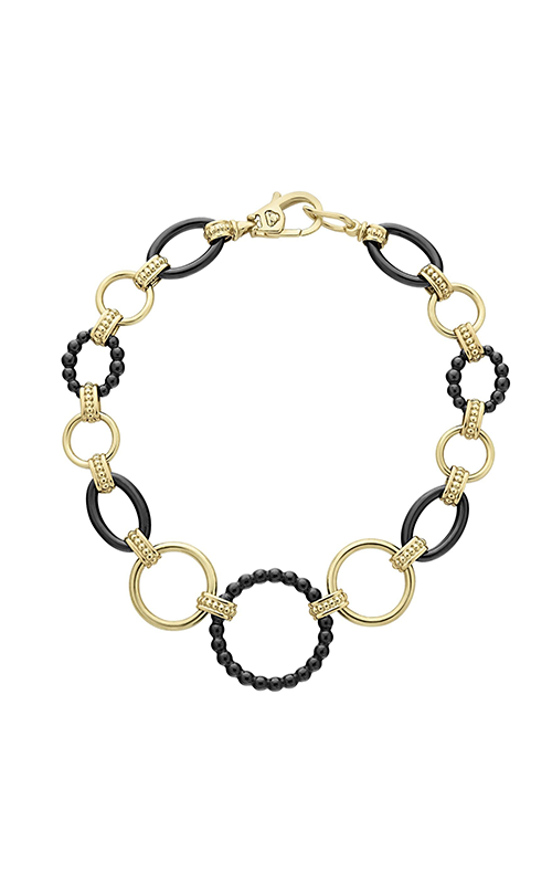 Lagos Gold & Black Caviar Bracelet 05-10340-CB7 product image