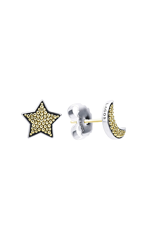 Lagos Signature Caviar  Earrings 01-81838-00 product image