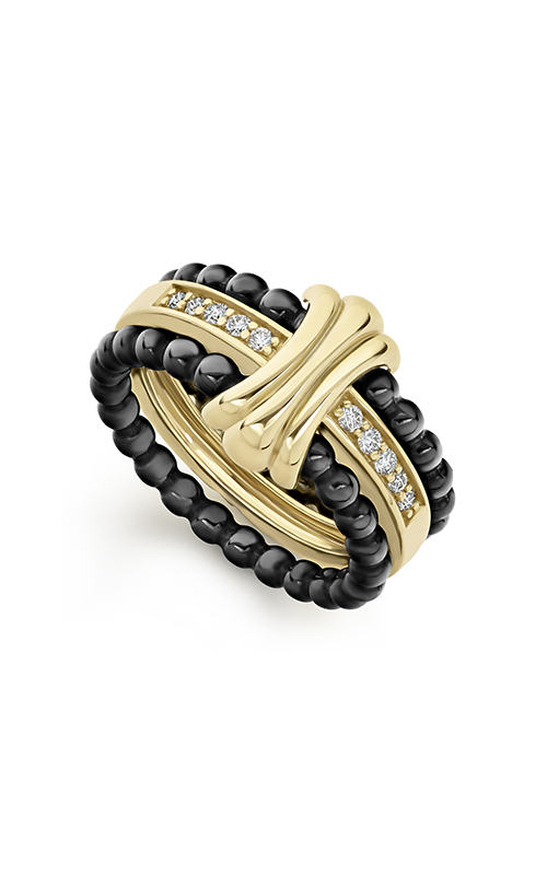 Lagos Caviar Gold Fashion ring 02-10296-CB7 product image