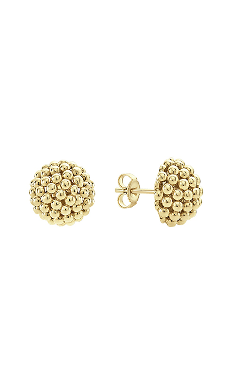 Lagos Caviar Gold Earrings 01-10504-S product image