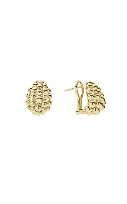 Lagos Caviar Gold Earrings 01-10527-M product image
