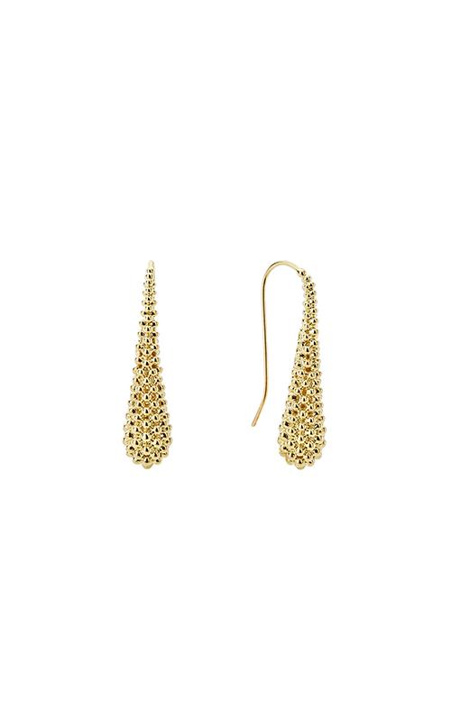Lagos Caviar Gold Earrings 01-11002-00 product image