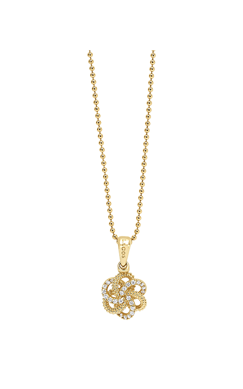Lagos Love Knot Necklace 04-10424-ML product image