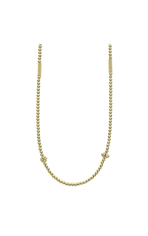 Lagos Caviar Gold Necklace 04-10455-18 product image