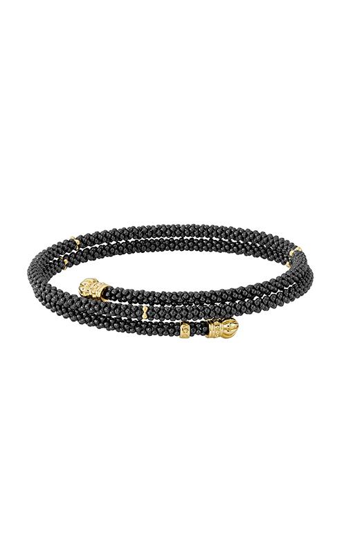 Lagos Gold & Black Caviar Bracelet 05-10299-CBM product image