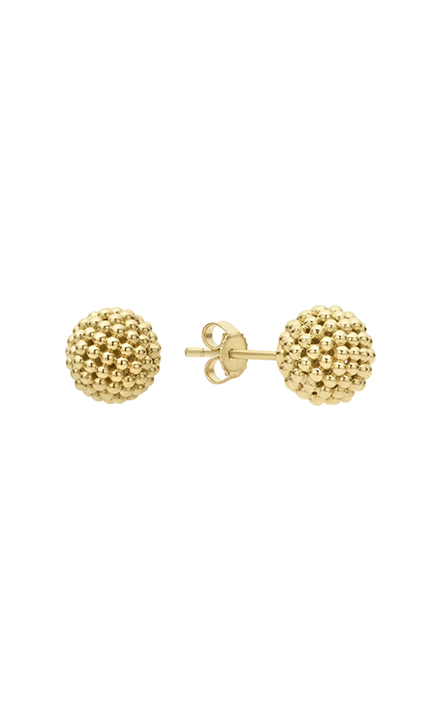Lagos Caviar Gold Earring 01-11008-00 product image