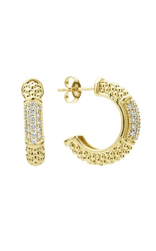 Lagos Caviar Gold Earrings 01-11026-DD product image